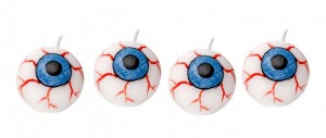 Halloween spooky eyeball candles