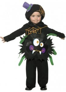 child-toddlers-crazy-spider-costume