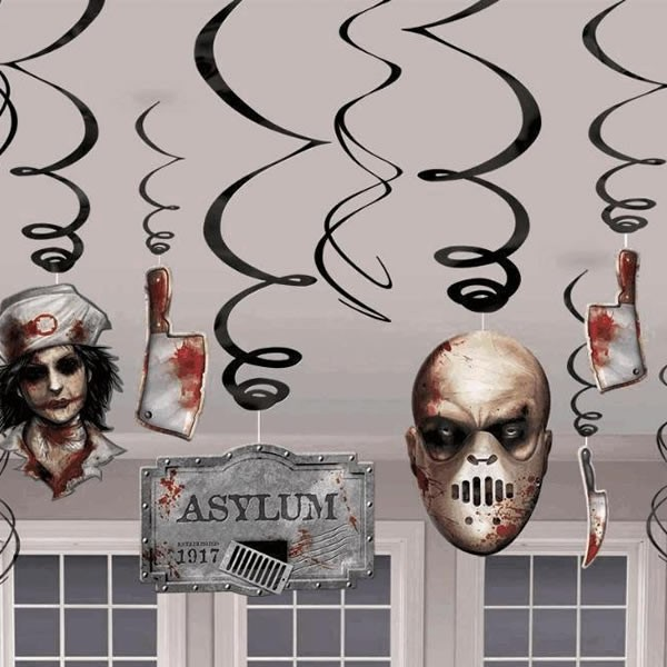 halloween-asylum-decor