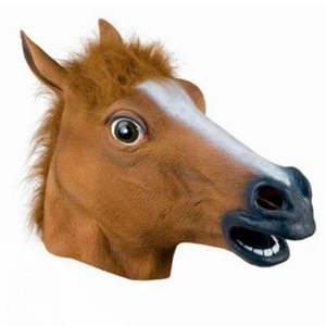 brown-latex-horse-head